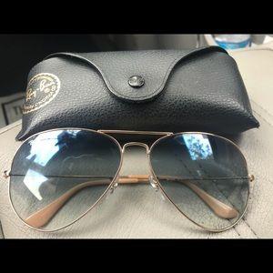 New Ray Ban sunglasses.